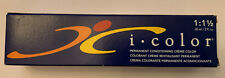 ISO I.COLOR PERMANENT CONDITIONING CREME COLOR 2oz You Choose Shade