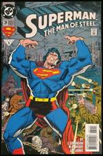 DC Comics Superman Man of Steel Annual 6 Bagged and Boarded 1997