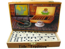 """Fine Art .""""Tradition"""" Oil Painting on Top Professional Domino .Limited edition"""