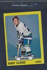 1973/74 Topps #189 Bobby Lalonde Canucks NM *483