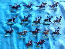 Plats d'étain HEINRICHSEN - Zinnfiguren - Guerres de religion - 16 cavaliers