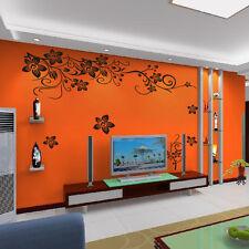 PLUMERIA Wall Decal Decor for Livingroom Wall #SC12.