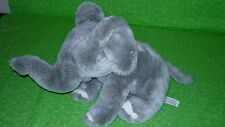 "Animal Alley GRAY ELEPHANT Plush Stuffed Animal Toy 8"" tall"