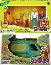 Scooby Doo Toy Bundle Mystery Machine and 5 x Action Figures New 3+
