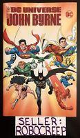 DC UNIVERSE BY JOHN BYRNE HC SUPERMAN BATMAN SIGNED BY WRITER MARV WOLFMAN