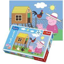Trefl 30 pieza infantil unisex Peppa Pig abuela Hen-house Visit