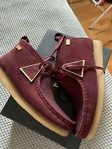 Clarks Kith Wallabee Boot Burgundy Men's Size 12 Originals Ronnie Fieg from 2018