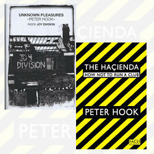 Peter Hook 2 Books Collection Set (The Hacienda: How Not to Run a Club) BrandNew
