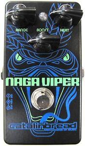 Used Catalinbread Naga Viper Treble Boost Guitar Effects Pedal!