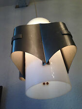 Rare Light Lamp perspex steel Design Lampe Maison Charles France Max sauce Era