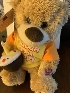"Chantilly Lane Musical  Bear Sings ""Laugh & Be Happy"" SEE VIDEO"