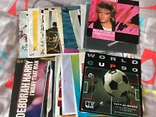 "Pick any 7"" Vinyl Singles 100 +records 70s 80s 90s £1.99 each Buy 3,1 FREE!"