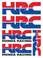 HRC Honda Stickers Set 5 Aufkleber laminiert CBR 600 1000 RR Racing Sponsor /19