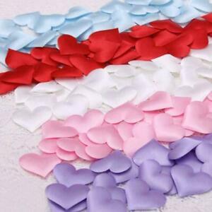 100pcs Decoration Love Heart Shaped Petals Birthday Decoration Supplies L0Z0