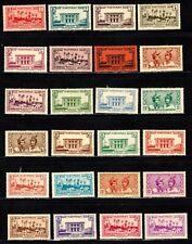 Martinique Stamps #133 - 172, MHOG, VVF, complete set, SCV $40.05