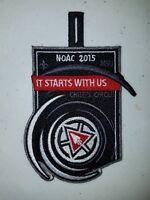 Boy Scout OA NOAC 2015 Centennial Chief's Circle Patch