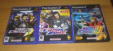 3 jeux playstation 2 PS2 - Time Crisis 2 + 3 + Crisis zone  (pistolet G-con 2)