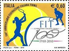 Italia 2010 Federazione italiana tennis MNH