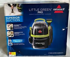 BISSELL Little Green Pro Portable Carpet Cleaner 2505 Super Suction New