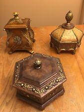 3 Trinket / Decorative Boxes