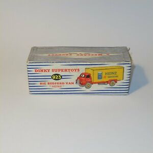 """Dinky Toys 923 Big Bedford Van """"Heinz"""" Original EMPTY BOX"""