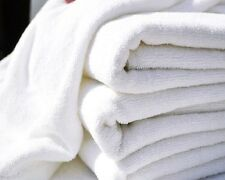 12 (1dozen) new hotel bath towels 20x40 100% cotton unused heavy duty