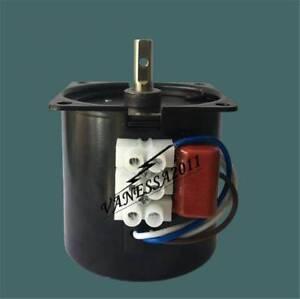 Synchronous Motor 60KTYZ 110V AC 60Hz 1 to 110 RPM CW/CCW 14W Gear Motor
