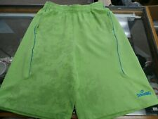 Spalding Men's shorts Green Size Medium polyester #33464