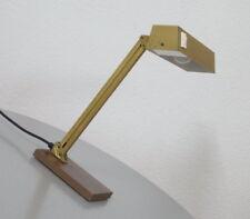 Pfäffle Messing Bankers Lamp Bankierslampe Tisch Arbeitsleuchte Vintage 60er J.