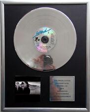 "U2 - The Joshua Tree CD Cover + 12"" Vinyl goldene / platin Schallplatte"