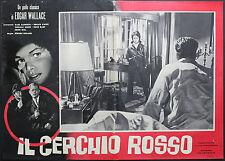 CINEMA-fotobusta IL CERCHIO ROSSO saebisch,ewert,ROLAND