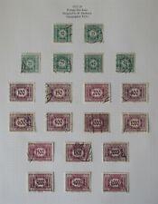 Austria. Fine used postage Due 1922-4 set.