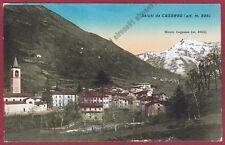 LECCO CASARGO 10a VALSASSINA - MONTE LEGNONE Cartolina viaggiata 1936