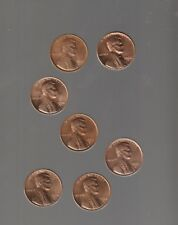 1968S 1969S 1970S 1971S 1972S 1973S 1974S ~ all 7 nice UNCIRCULTD LINCOLN CENTS