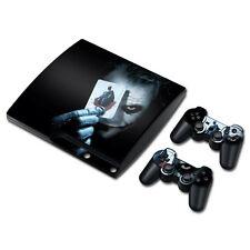 Skin Decals Vinyl Sticker For PS3 Slim Console + Controllers
