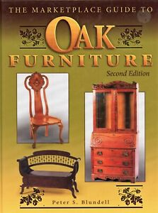 Antique American Oak Furniture - Types Makers Dates  / Illustrated Book + Values