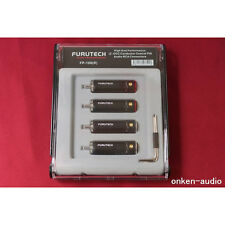 Furutech RCA Plug FP-108 (R) Rhodium Plating 4pcs  Audio Connectors Japan