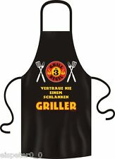 Tablier barbecue, Tablier de cuisine, plus maigre Griller, RAHMENLOS 2943