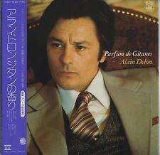 Alain Delon - Parfum De Gitanes JAPAN ONLY LP with OBI and BOOKLET