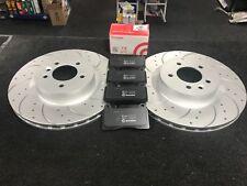 Pair RANGE ROVER Mk4 L405 5.0 2x Brake Discs Vented Rear 2012 on 508PS 365mm