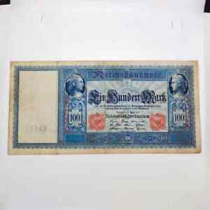 Germany 1910 100 marks Red Seal C.7672998 vf