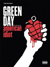 Green Day American Idiot Sheet Music Piano Vocal Guitar SongBook NEW 000321549