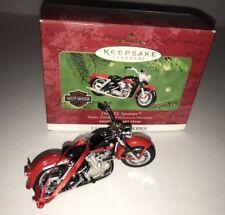 "Hallmark Harley Davidson Christmas Ornament ""1957 Xl Sportster� 2001"