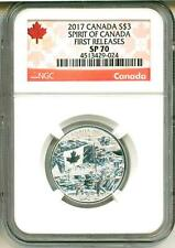 2017 S$3 Canada Spirit Of Canada First Release NGC SP70