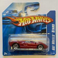 2007 Hotwheels Ford GT GT-40 GT 40 Red Stars! Very Rare! Mint! MOC!