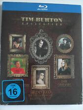 Tim Burton Sammlung Collection - Schokoladenfabrik + Sweeney Todd + Dark Shadows