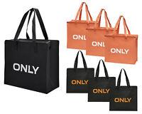 "ONLY TASCHE ""3er Pack"" Shopping Bag Umhänge Shopper Einkaufs Schulter Tasche Neu"