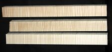 """Curly Maple Turning Cue Blank - Highly Figured - 1.5 x 1.5 x 18"""""""