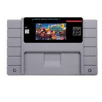 Donkey Kong Country 3: D Trb SNES Super Nintendo USA NTSC 16bit 46pin(SNES Card)