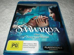 Saawariya (Blu-ray, 2008) Rated PG YY67
